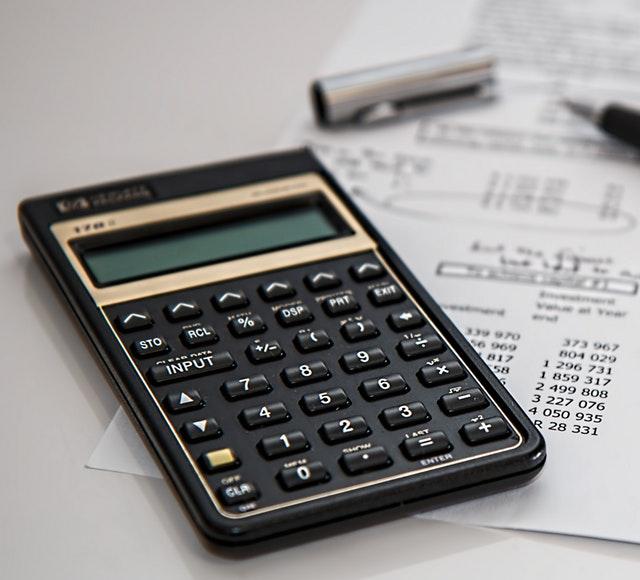 Miniräknare och budget